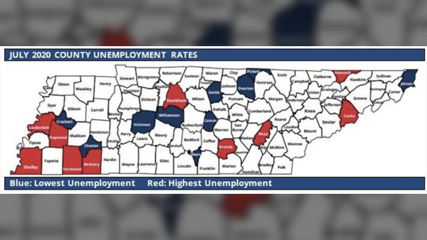 State Releases Unemployment Rates By County Three Largest Cities For July Wate 6 On Your Side