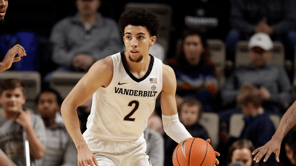 Scotty Pippen Jr NBA Draft vanderbilt