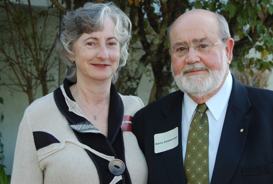 Larry and Lucy Stephenson of Kingston