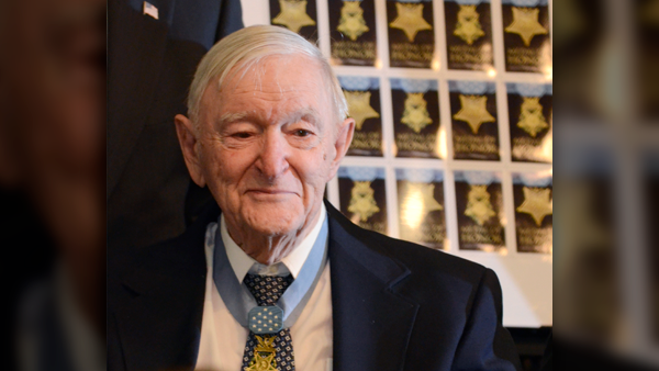 Charles Coolidge tennessee medal of freedom obituary