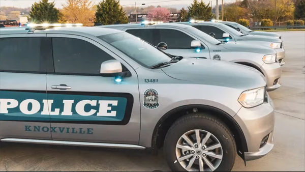 Knoxville Police cruiser