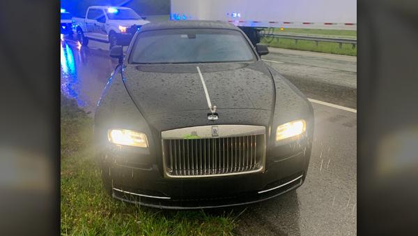 tennessee georgia highway patrol stolen rolls-royce