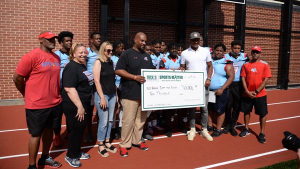 Austin East High School dick's sporting goods grant