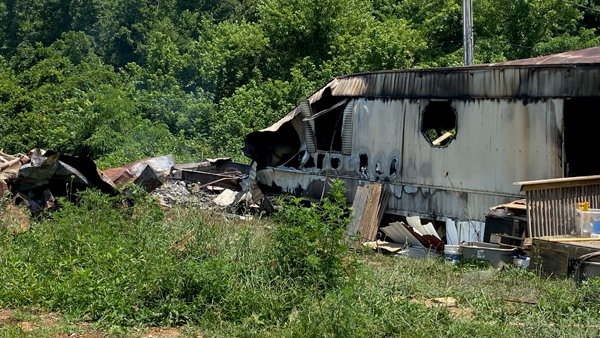 tazewell mobile home fire