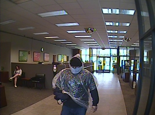 Knoxville fountain city bank robbery suspect regions