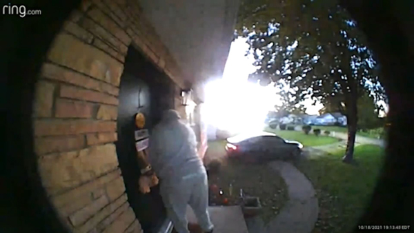 knoxville police ring cam video